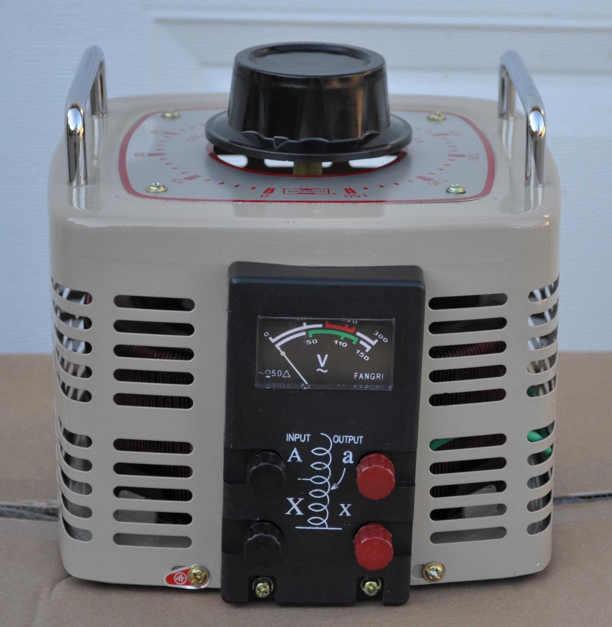 Variac Variable Transformers Voltage Regulators Tdgc2 ...