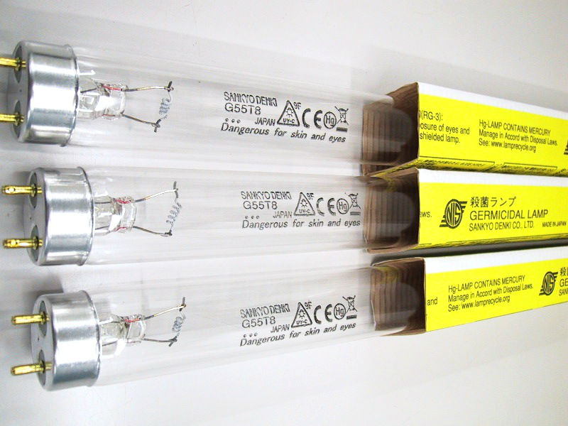 Germicidal Uv Fluorescent Lamp Bulb Original Sankyo Denki