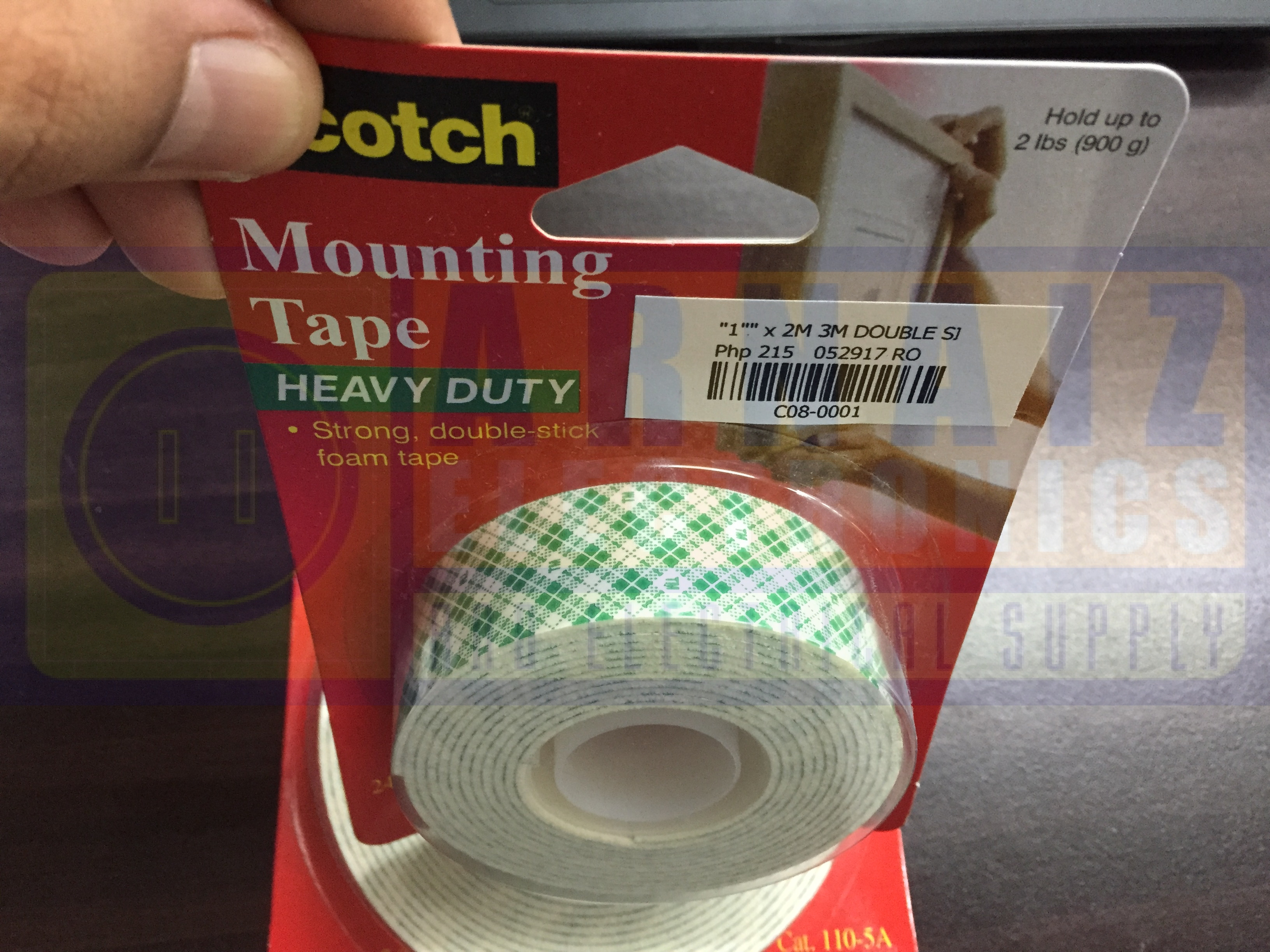 3m Structural Bonding Tape : M double sided tape green scotch mounting bonding